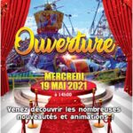 Ouverture 2021 Fiesta Parc – Attractions Vic la Gardiole